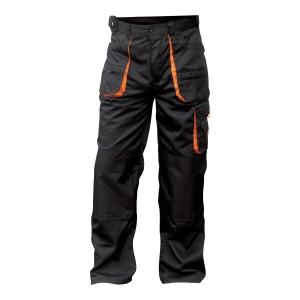 Spodnie FRIDRICH & FRIDRICH BE-01-003, czarne, rozmiar 56