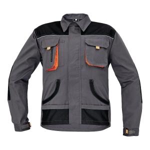 Bluza FRIDRICH & FRIDRICH BE-01-002, szara, rozmiar 56