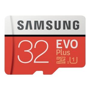 Karta pamięci SAMSUNG EVO+ 32GB microSD z adapterem