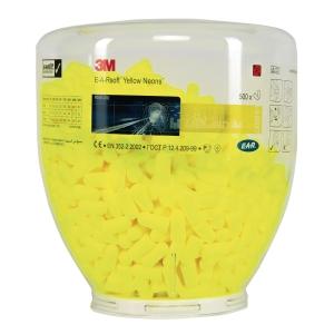 Wkładki przeciwhałasowe 3M, PD-01-002 żółte, 500 par