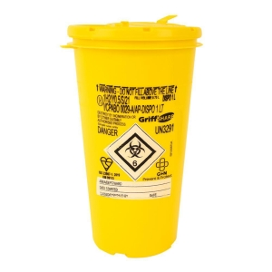 SHARPS BOX 1 LITRE