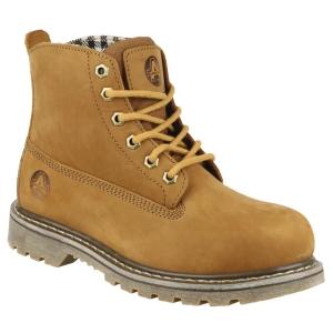 Footsure FS103 Ladies Boot 39 Tan