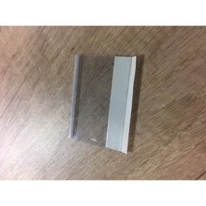 PK100 SELF ADHESIVE TABS CLEAR