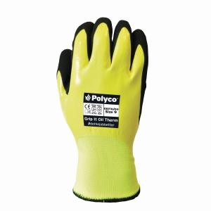 Polyco Grip It Oil Glove 10