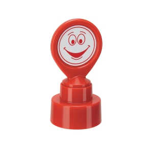 Colop 147165 School Stamp HappyFace Red