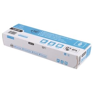 EXACOMPTA CREDIT CARD MACHINE RECEIPT ROLLS, 57 MM X 24 M, BOX OF 10