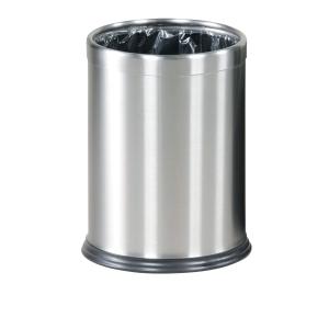 Rubbermaid Hide-A-Bag Bin Stainless Steel 13.2L