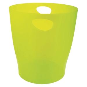Exacompta 45381D 15L Waste Bin Green