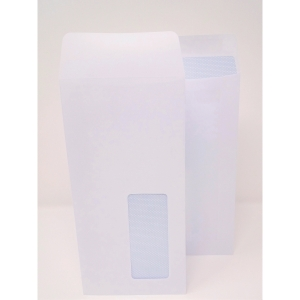 Lyreco Envelope Dl Pocket 90G Self Seal With Window White Pack Of 1000