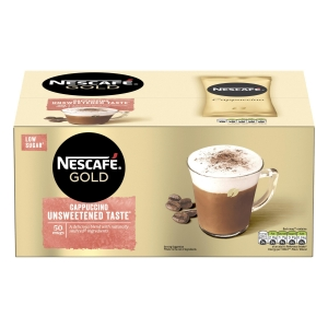 Nescafe Gold Cappuccino Sachets -  Box of 50