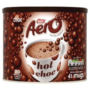 NESTLE AERO HOT CHOCOLATE 1KG TIN
