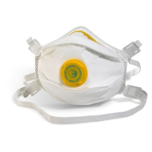 B-Brand Bbp3V P3 Valved Mask White - Pack Of 5