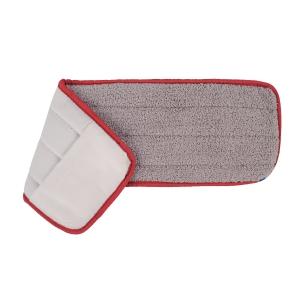 Red Microfibre Standard Mop Head 43cm