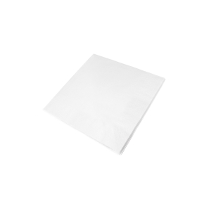 White 3 Ply Napkins 40cm- Pack of 100