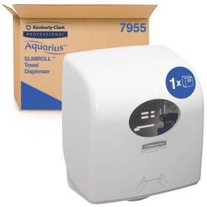 Scott Control White Aquarius Slim Hand Towel Dispenser
