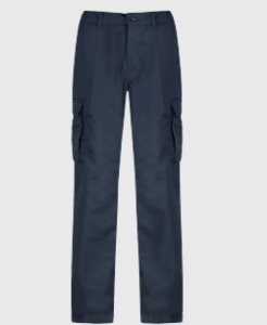 Cargo Trouser 30   Waist Short Leg - Navy Blue