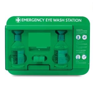 EMERGENCY EYE WASH BATH WALL STATION