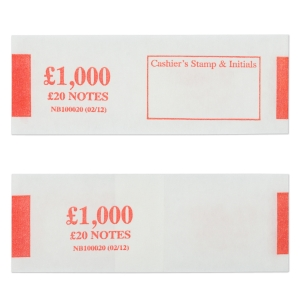 PK500 NOTEBANDS £1000 IN £20