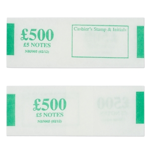 PK500 NOTEBANDS £500 IN £5
