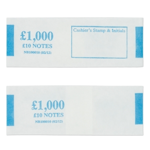 PK500 NOTEBANDS £1000 IN £10