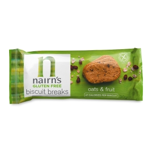 NAIRN GLUTEN FREE OATS AND FRUIT BISCUITS- PACK OF 12