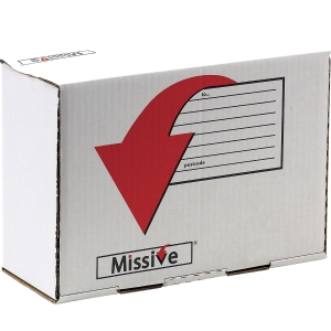 Missive Value Mailing Shoe Box - Pack Of 20