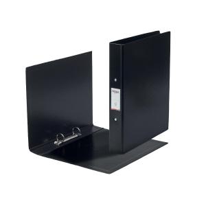 Rexel Choices A5 Ring Binder, 25mm Spine, 2 O-Ring, Black