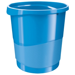 Rexel Choices 14 Litre Waste Bin Blue