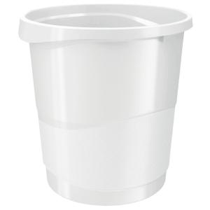 Rexel Choices 14 Litre Waste Bin White