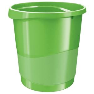 Rexel Choices 14 Litre Waste Bin Green