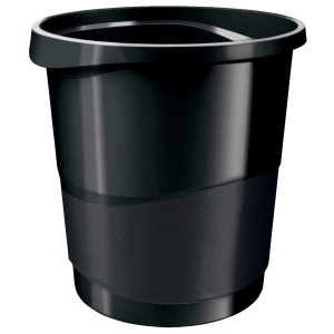 Rexel Choices 14 Litre Waste Bin Black