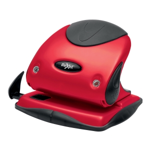 Rexel Choices P225 25 Sheet 2 Hole Punch Metal Red