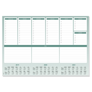 SIGEL 832826 DAILY WEEKLY PLANNER MAXI