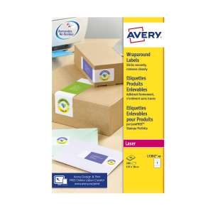 Avery Wrap Around Labels L7202-40 200 X 60mm Pack Of 280
