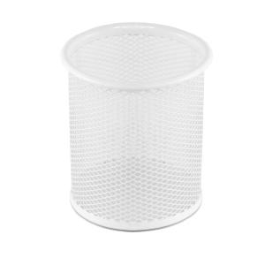 Osco PP1-Wht Pen Pot Wiremesh White