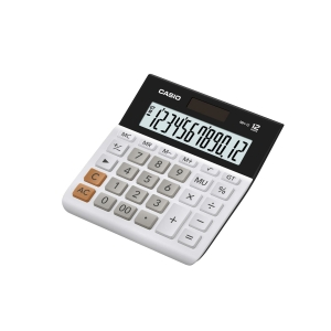 CASIO BASIC DESK CALCULATOR - 12 DIGIT