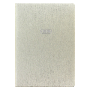 Letts Sparkle Week To View A5 Desk Diary Gold