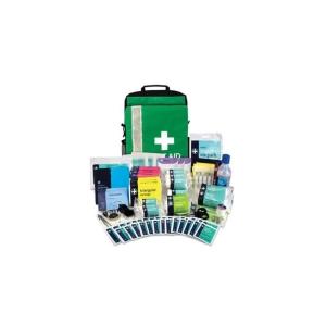 BS8599-1 School Trip Kit In Green Bag