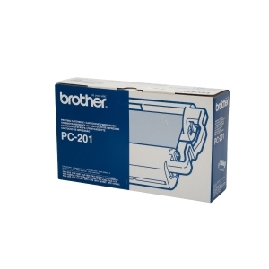 BROTHER PC201 ORIGINAL INK FILM RIBBON FAX CARTRIDGE