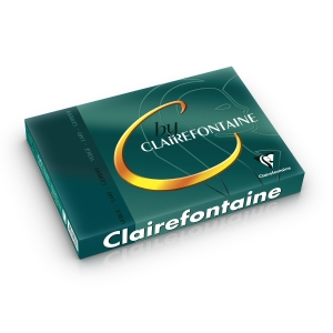 Clairefontaine Bright White Laid A4 Paper 100gsm - Pack of 1 Ream (250 Sheets)
