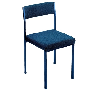 CONTRACT CONFERENCE CHAIR (NO ARM RESTS) - BLUE