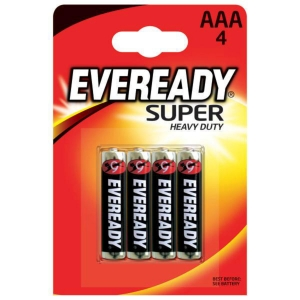 PK4 EVEREADY SUPER DUTY BATTERY AAA
