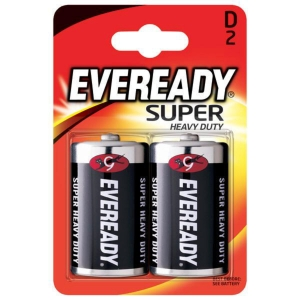 PK2 EVEREADY BATTERY D