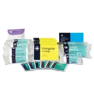 FIRST AID KIT REFILL STANDARD SIZE FOR 1-10 EMPLOYEES