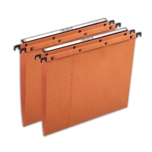 Elba Strongline AZO Ultimate Susp Files F/Scap Orange V Base H/Duty - Box of 25