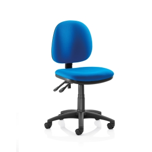 Origin Medium Back Operators Chair Without Arms - Blue