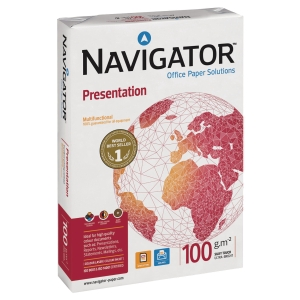 Navigator Presentation Paper White A3 100gsm - Ream of 500 Sheets