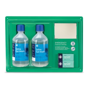 ASN 0803 EMERGENCY EYE WASH WALL STATION