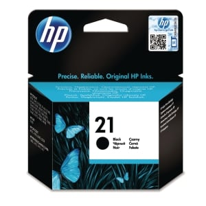 HP 21 Black Original Ink Cartridge (C9351AE)