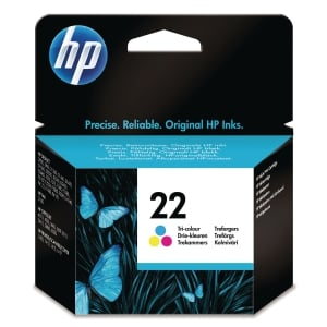 HP 22 Tri-Colour Original Ink Cartridge (C9352AE)